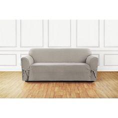 Flexsteel Sofa Sure Fit Horizontal Club Piece Sofa Slipcover