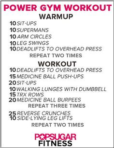 Power Gym Workout: This 45-minute total-body workout is based on a typical class at BLITZ, a class from Sports Club/LA.