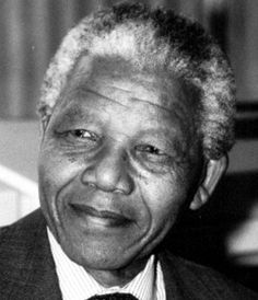 Nelson Mandela is for me is one of the most inspiring person in this world. Nelson Mandela is a shining example of the fact that hard work pays of. Looking at Nelson Mandela's picture reminds me that if I want to fulfill my dreams I need to work hard.