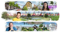 BNA Onderzoek 'Stad van de Toekomst' team: WAM architecten, Lodewijk Baljon landschapsarchitecten, SMARTLAND landscape architects, Stadfactor, Observatorium, De Kabelfabriek, Witteveen+Bos en TNO Mobility.