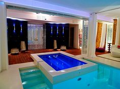 Luxury spa by Piscinas Godo. http://piscinasgodo.com/proyectos/