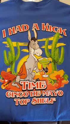 Top Shelf Annual Cinco de Mayo Shirt -2015