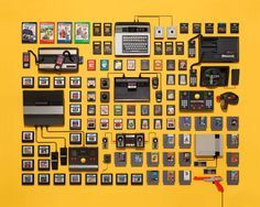 Jim Goldens Collection-Photography feat. Atari, Boomboxes and 8Tracks