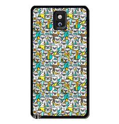 Pug Pattern Samsung Galaxy S3 S4 S5 Note 3 Case