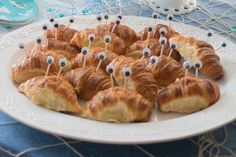 Crab Croissants for a Moana party | CatchMyParty.com