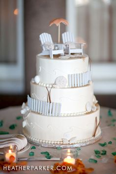 I like this cake...just want it more minimal for my wedding.