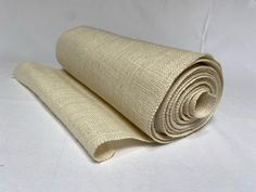 """14"""" Oyster Burlap Sewn Edge 10 Yard Roll Made In USA Burlap Rolls, Burlap Ribbon, Oysters, Yard, Usa, Sewing, Crafts, Decor, Patio"""
