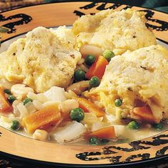 Vegetable Stew with Herb Dumplings Printable Recipe