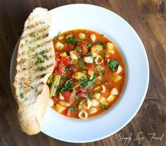 Rustic Tuscan Vegetable Soup - I will be making SO much soup this winter.