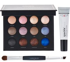 Laura Geller Eyeshadow Palette w/ Spackle Eyelid Primer