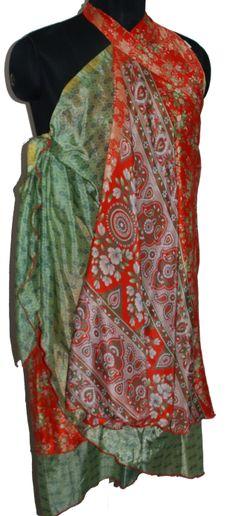 3727deb689f magic skirt multi wear silk dress - store333