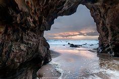 The rock formations along the coast between Santa Cruz and Davenport - Jim Patterson