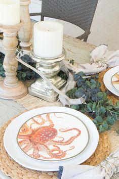 Sealife plates, rust