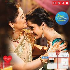 Make a lasting connection with a thoughtful gift. Usha Sewing Machines creating bonds of love across time.