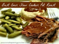 Slow Cooker Pot Roast {25 Days of Slow Cooking}