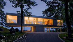 30 fotos de fachadas de cristal moderno