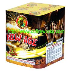 16s New Age (CA2021) Fireworks from CC FIREWORKS CO.LTD on YYUber.com