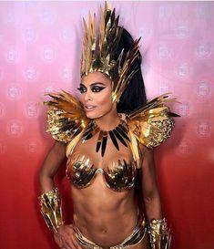 Carribean Carnival Costumes, Caribbean Carnival, Carnival Girl, Carnival Outfits, Music Festival Outfits, Festival Fashion, Cool Costumes, Dance Costumes, Costume Carnaval