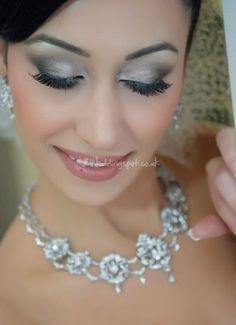 Bridal make-up from Belle Mariée Bridal by Shaista