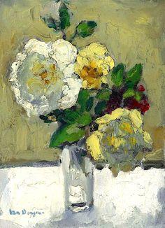 bofransson:  Kees van Dongen (1877-1968) Fleurs