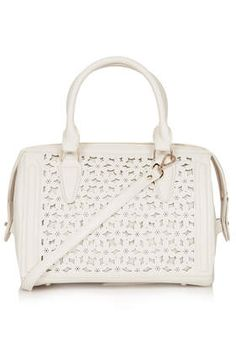 Daisy Laser Cut Holdall - Bags & Purses  - Bags & Accessories