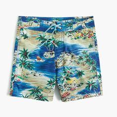 Boys SANDS CASTLE swimsuit 3T 4 5 6 7 8 9 10 12 NWT swim trunks aqua tropical