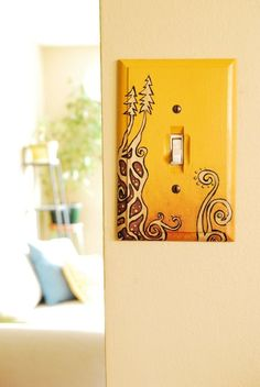 Light switches are most likely less visible for some of us. That doesn't mean we don't have to take them into account. On the contrary, they are as importa