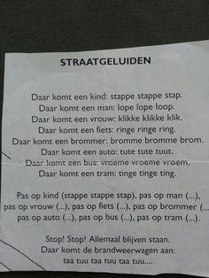 Versje: straat geluiden