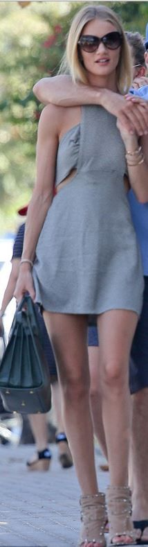 Rosie Huntington-Whiteley in the Reformation Holland Dress.