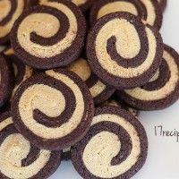Guest Post, 17Recipes: Chocolate-Vanilla Pinwheel Cookies