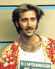 Nicolas Cage, Raising Arizona, 1987