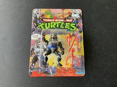 1991 Chrome Dome MOC Ninja Turtle Toys, Ninja Turtles, Neca Figures, Teenage Mutant Ninja, Tmnt, Chrome