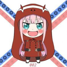 Kawaii Zero Two - Darling in the Franxx #anime