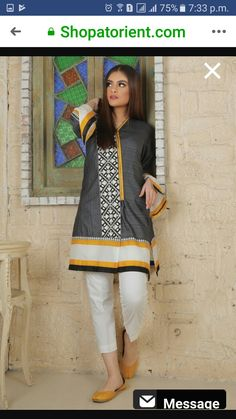 New Kurti Designs, Kurti Designs Party Wear, Designs For Dresses, Simple Pakistani Dresses, Pakistani Dress Design, Pakistani Fashion Party Wear, Pakistani Outfits, Stylish Dresses For Girls, Casual Dresses