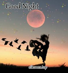 gynaika sto brady me feggari Good Night Qoutes, Good Night Love Images, Good Night Gif, Good Night Image, Good Knight, Nighty Night, Good Morning, Gifs, Sleep