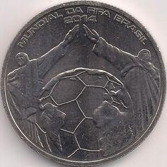 Motivseite: Münze-Europa-Südeuropa-Portugal-Euro-2.50-2014-Mundial da FIFA Brasil