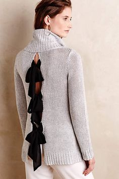 Bow-Back Pullover available on anthropologie.com