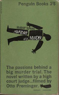 Anatomy of a Murder, Saul Bass, Penquin cover