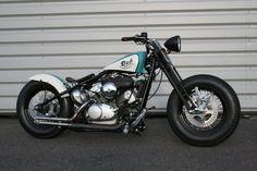 Honda Shadow 125 Bobber Motorcycle
