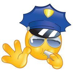 Police smiley