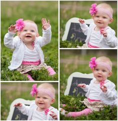 Aubree 9 months old & Counting