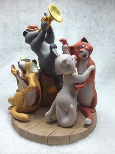 "The Disney Collection, Grolier, Magic Memories ""Aristocats"" Original Figurine Designed By The Walt Disney Artists, Mint on Etsy, $39.95"