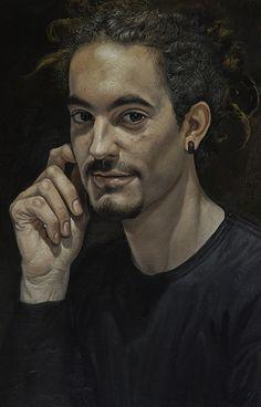 Massimo Pedrazzi, Young man with the rastas on ArtStack #massimo-pedrazzi #art