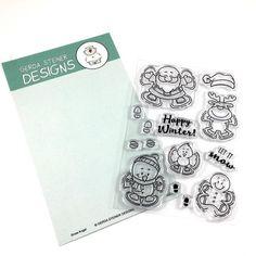 Snow Angel 4x6 Clear Stamp Set
