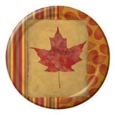'Touch of Fall' Dinner Plates