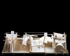 STACK . sculpture model.