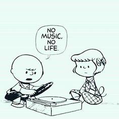 charlie brown no music no life House Music, Music Is Life, New Music, Jazz Music, Vinyl Music, Vinyl Records, Charlie Brown Snoopy, Charlie Brown Music, Mundo Musical