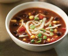 Easy Black Bean Soup   Recipes   Beyond Diet #health #fitness #diet #weightlosstips #fastweightloss