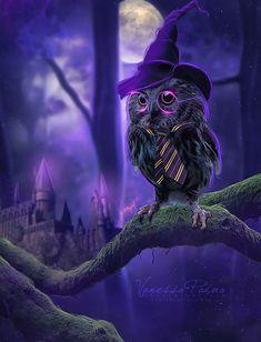 Harry owl by VanessaPadua.deviantart.com on @deviantART