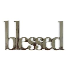 Letter2Word Blessed Wall Décor